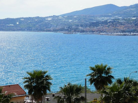 Hotel Ariston Montecarlo: View from our room