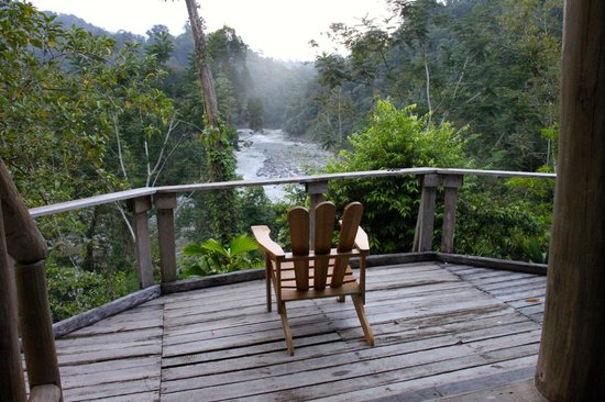 Extreme Costa Rica Tours: Overlook of the River from the camp