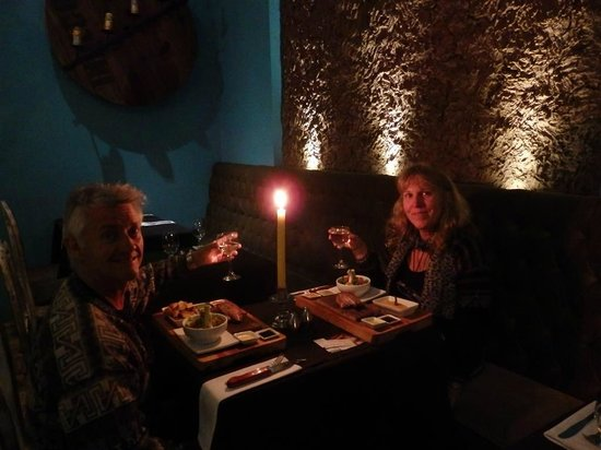 Uchu Peruvian Steakhouse: Romantic meal for 2