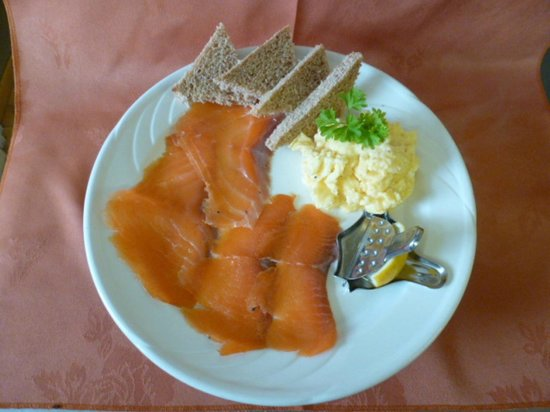 Hepworth Guest House: Smoked Salmon