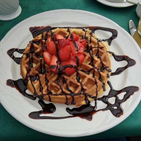 Hepworth Guest House: Home-made American Waffles