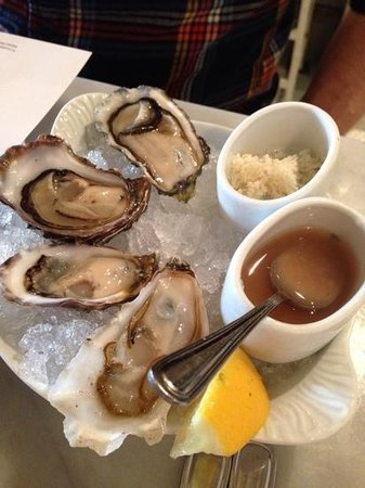 The Walrus and the Carpenter: oysters. $3.50 each