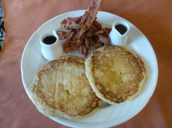 Hepworth Guest House : Home-made American pancakes