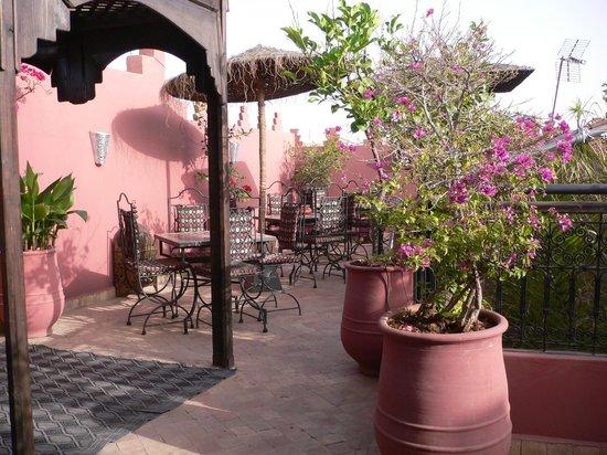 Riad La Porte Rouge: 屋上テラス