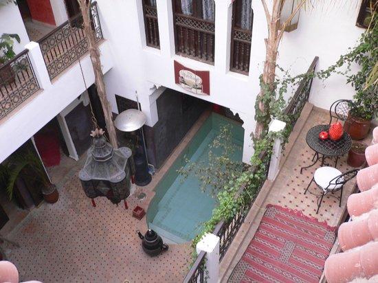 Riad La Porte Rouge: ホテル内