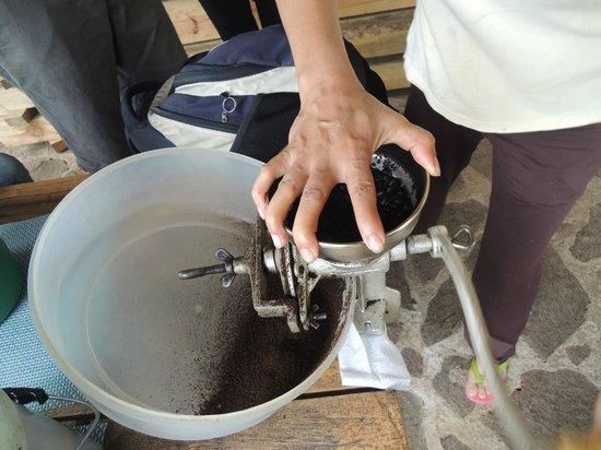 Hotel de Montana Aguas del Arenal : Café de la finca