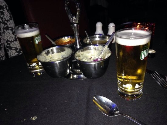 The Parvin: Chutneys and cobra beer