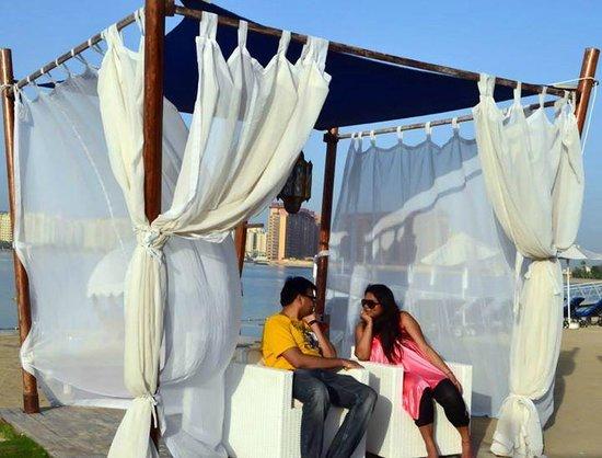 Rixos The Palm Dubai : Cabanas