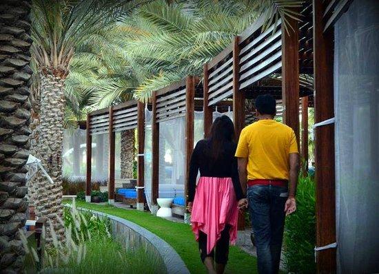 Rixos The Palm Dubai: Cabanas