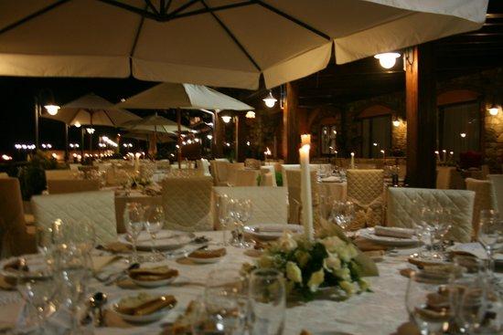 Ristorante Parco Reale : candel light dinner