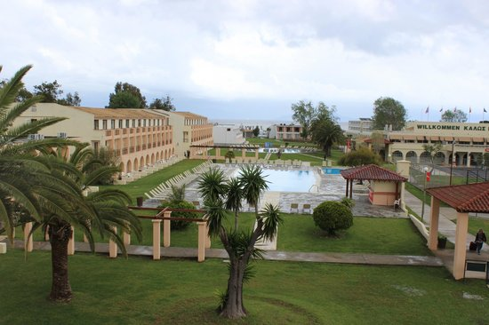 Messonghi Beach Resort : vue de la chambre