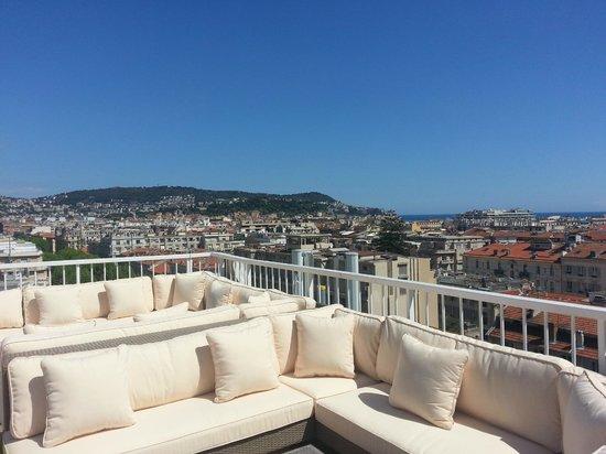 Splendid Hotel & Spa: VIP Lounge on 9th floor: wonderful views on the city