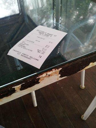 Selfish Fish N Chips: Rusty Tables