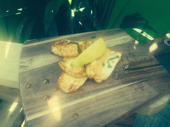 The Lime Crab: Deep Fried Halloumi