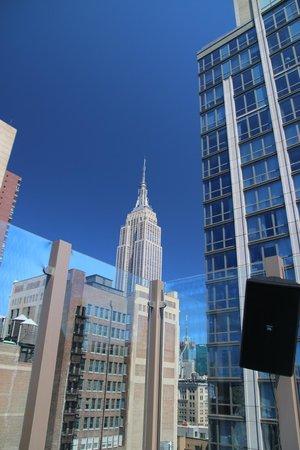Gansevoort Park Avenue NYC: uitzicht vanuit het zwembad op het dak