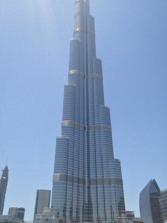Arabian Courtyard Hotel & Spa: Burj Khalifa