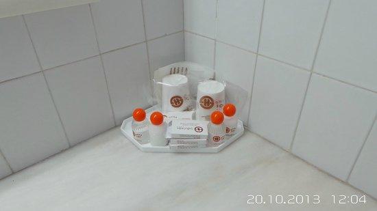 Hotel Apartamento Brisa Sol : shampoo/soap/shower cap