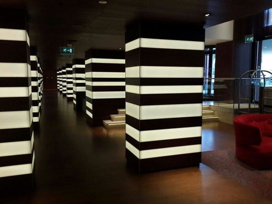 Hilton The Hague : Ресепшн