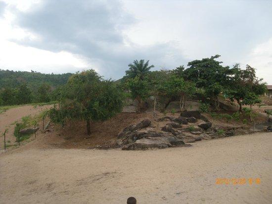 Burundi : Butte dans un paysage le long du lac Tnaganyika à Rumonge