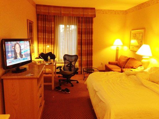 Hilton Garden Inn Flagstaff: スモーキングルーム