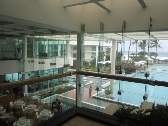 Sheraton Grand Mirage Resort, Gold Coast: view from lobby