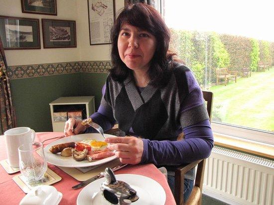 Fingle Bridge Bed and Breakfast: breakfast