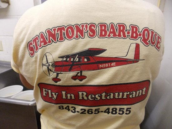 Stanton's Barbecue & Fish Camp: The T-shirt says it all
