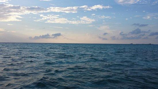 Medhufushi Island Resort : Sunset