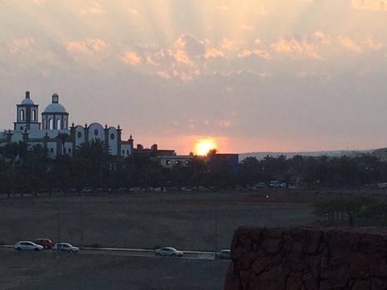 Lopesan Baobab Resort : sunset