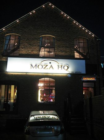 Moza HQ welcomes you - a great place to eat