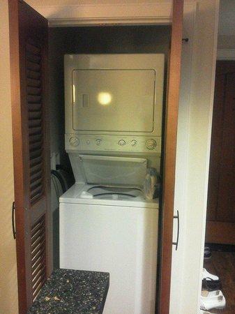 Aulani, a Disney Resort & Spa: 洗濯機