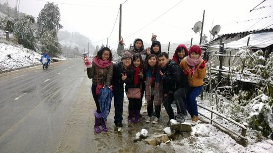 Muong Hoa Valley: Unsere Gruppe in Sapa