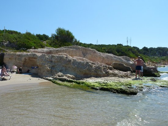H·TOP Molinos Park: Пляж (бухта)