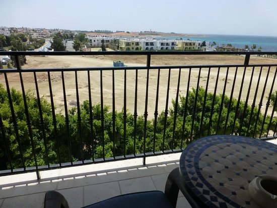 Elysium Hotel: room with a view