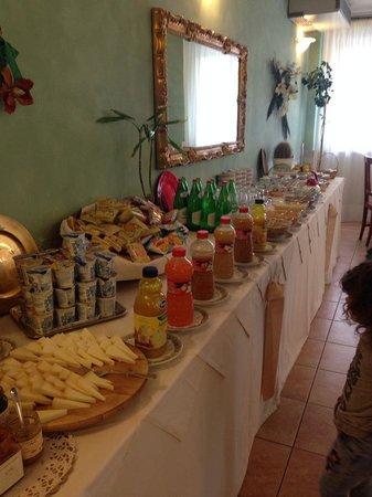 Albergo San Biagio : La colazione