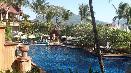 Novotel Phuket Resort : pool area