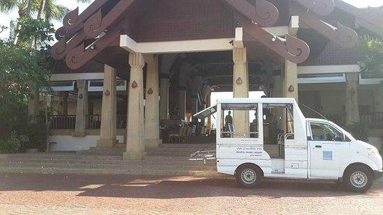 Novotel Phuket Resort : front area near lobby