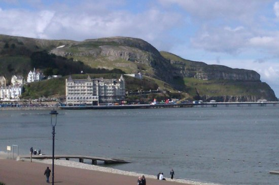Kinmel Hotel: View of the Great Orme from the Hotel