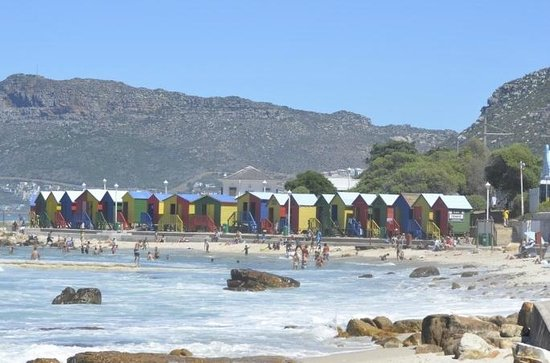 CapeScot Tours: Beach huts in St James