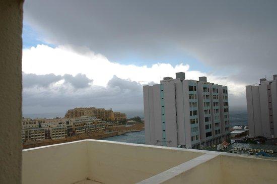The St. George's Park Hotel: Вид с моего балкона