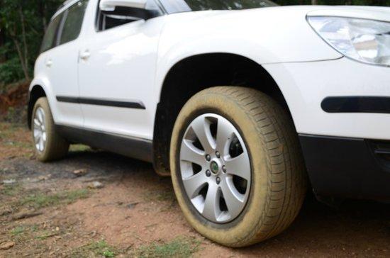 Linger at Balur Estate : After off roading