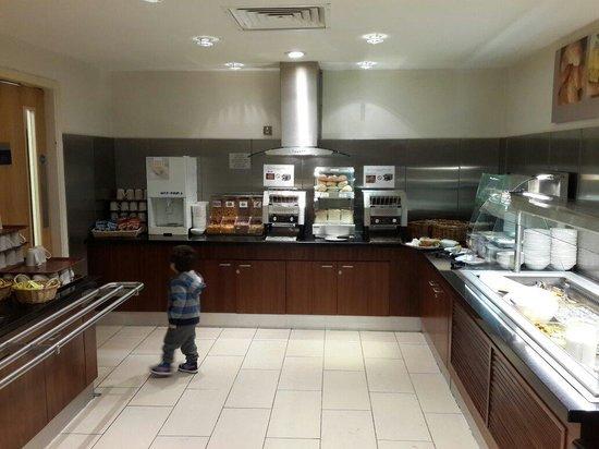 Holiday Inn Express Edinburgh - Royal Mile: Desayuno buffet