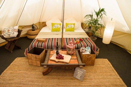 Jah Shaka Surf and Kite Lodge: Luxury Bell Tent