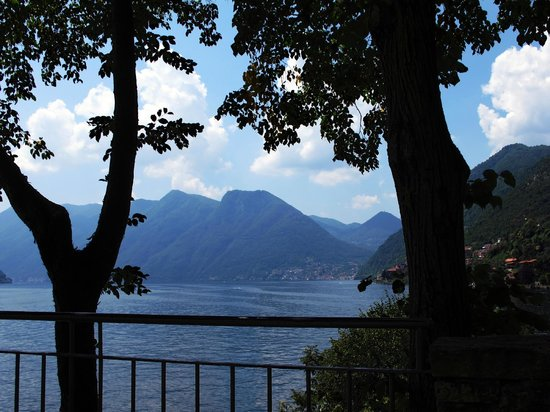 Locanda dell'Isola Comacina: View from our table at the restaurant