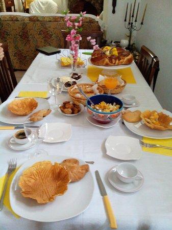 B&B Amarcord : la colazione ottima