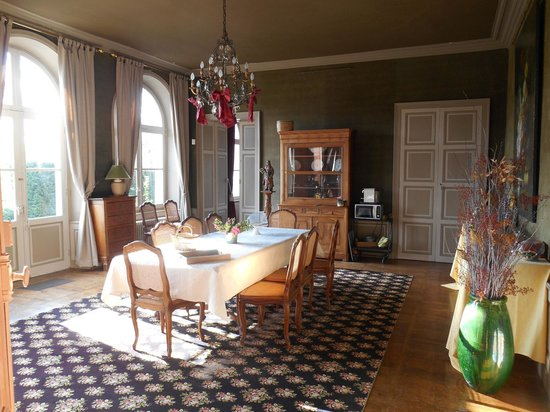 Château De La Marche : Salle à manger