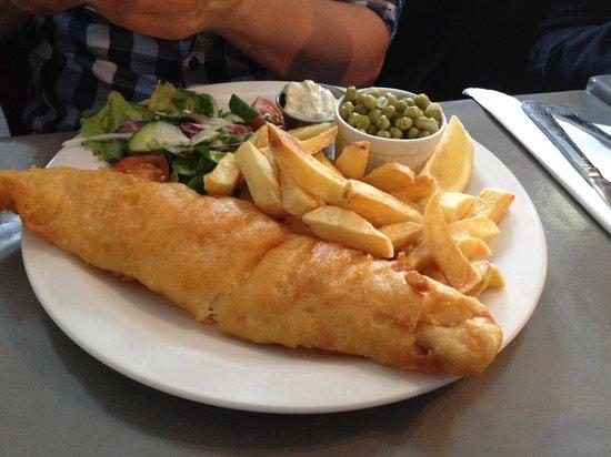Lizzie's Diner: fish & chips