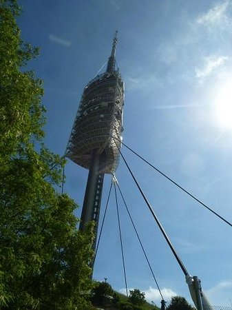 Torre de Collserola : From the walking way
