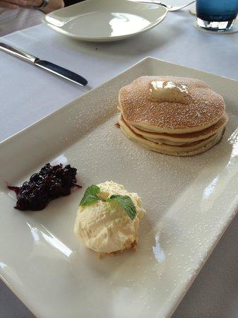 Villa Song Saigon : Pancakes served at Bistro Song Vie
