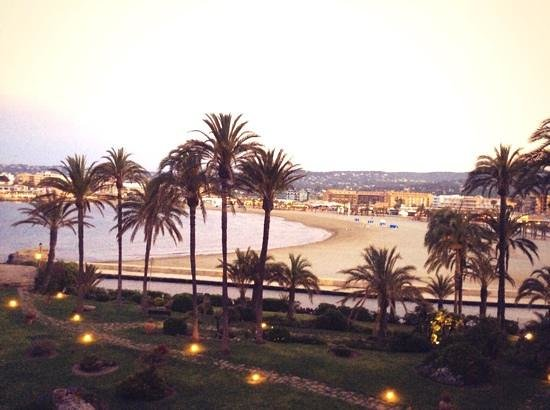 Parador de Javea : view from our room on the second floor